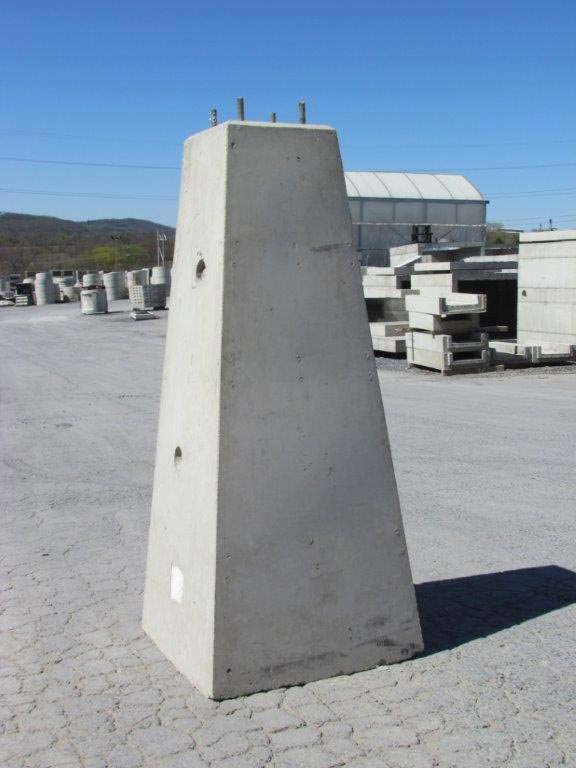 Precast Concrete Pole Bases : Portfolio precast concrete sales company