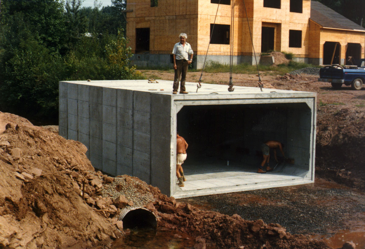 Box Culvert Installation