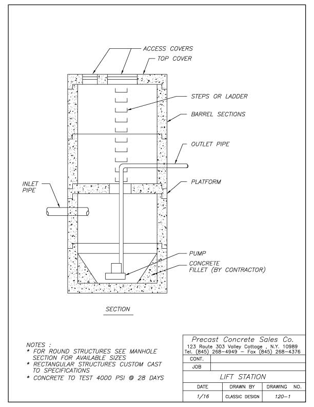 Concrete Pole Design : Light pole bases precast concrete sales company