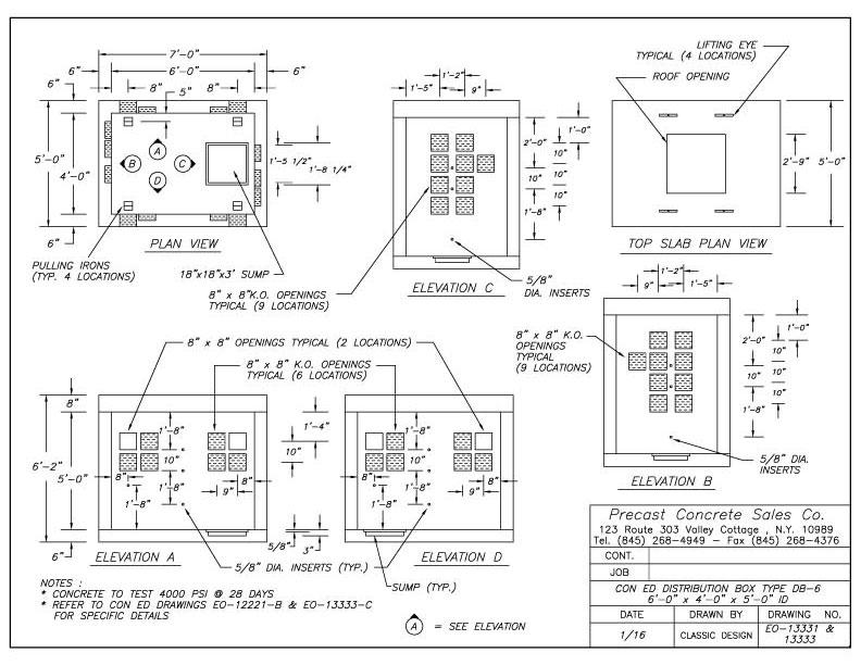 Electrical Precast Concrete Manhole Dimensions : Electric manholes pull boxes transformer pads precast